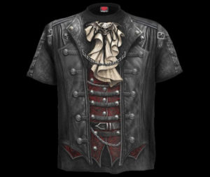 Brand-New-MenS-Black-Goth-Tee-Shirt