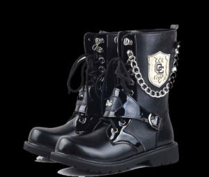 Chain-Stud-Badge-Men-Martin-Boots-Men-Army-Boot