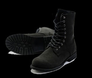 Mens-Faux-Leather-Boot