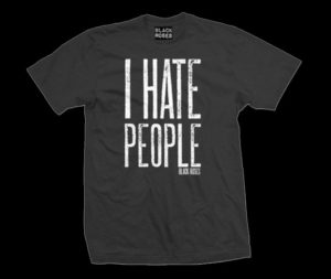 Mens-I-Hate-People-T-Shirt-Black