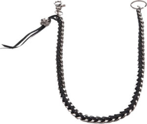 Mens-Knitted-Skull-Waist-Chain