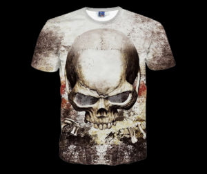 New-Skull-Print-Fashion-Mens-T-Shirts