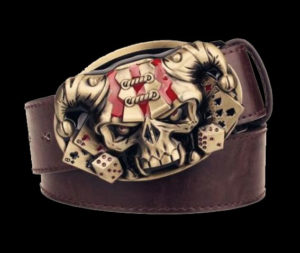 Steampunk-Mens-Belt-With-Gold-Skull-Buckle