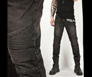 Washed-Tough-Chic-Black-Designer-Skinny-Biker-Jean